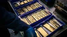 Heavy metal: The price of gold has soared thanks to demand in Europe and the United States. Photo: Bloomberg