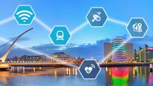 Digital pioneer: Dublin's Docklands area is an early adopter of smart city technology