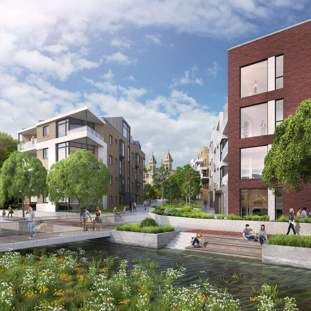 Savills Ireland is inviting forward funding proposals for the four apartment schemes (Mount Argus pictured