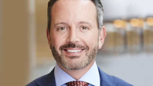 Allergan CEO Brent Saunders.