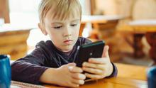 Growing up fast: Some 90pc of British 11-year-olds may soon own a phone