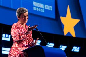 Illegal: European Commission competition chief Margrethe Vestager said Apple got illegal aid from Ireland
