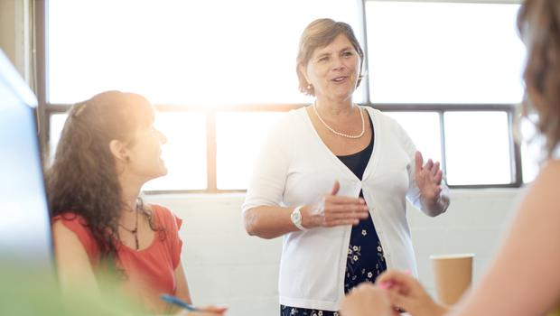 'What is your sense of purpose? Does your name mean something to you? Why do you get out of bed in the morning? Asking these kinds of questions can help you determine what you stand for as a leader' (stock photo)