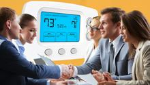 'It's essential to have some form of a thermostat to gauge what you should adjust to meet changing needs and expectations.' Stock image