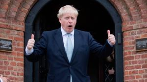 Boris Johnson would not be in running for top job if deal had been done with the DUP. Photo: PA