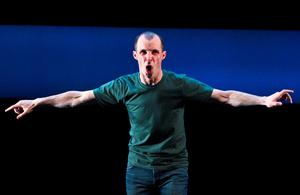 Tom Vaughan Lawlor at Galway Arts Festival in 2013