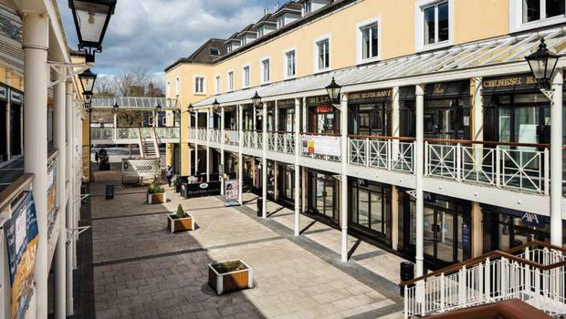Swords Plaza is producing net operating income of €1,556,000