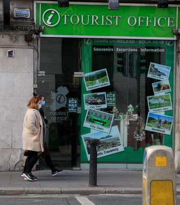 Shuttered: Tourism is hit hard