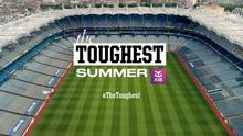 The Toughest has seen professional players from the NHL, the NFL as well as players from the world of cricket, rugby and soccer try their hands at Gaelic football, hurling and camogie, sometimes with hilarious outcomes.