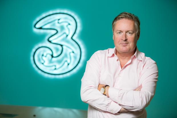 Challenge: Three's UK and Ireland CEO Robert Finnegan is keeping on top of high network demand