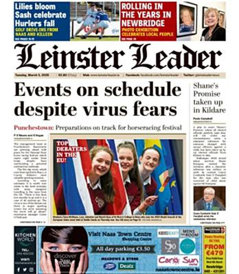 'The Leinster Leader' is among the firm's newspaper titles