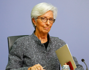 """ECB president Christine Lagarde got off on the wrong foot a couple of weeks back when she said: """"I don't think anybody should expect any central bank to be the line of first response""""."""
