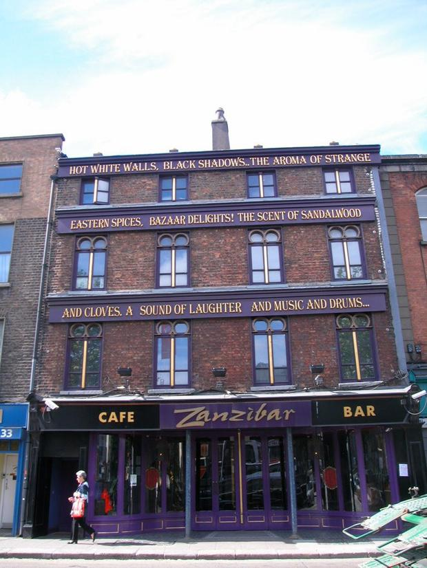 Formerly a part of Liam and Des O'Dwyer's Capital Bars Group, Zanzibar could achieve up to €6m