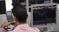 By the close of trading the ISEQ Overall Index had climbed 0.4pc, or 13.7 points