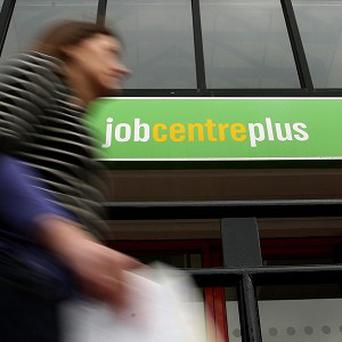 The jobless total has risen in each of the last three quarters, figures show
