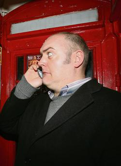 Comedian Dara O Briain, whose company, Happy Endings Productions, has posted losses for the past two years.