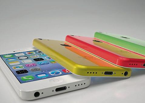 An internet image purporting to show the new iPhone 5C