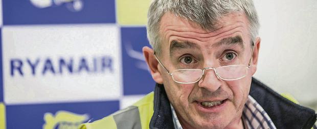 Ryanair chief executive Michael O'Leary now prepared to involve travel agents