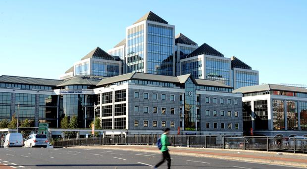 Ulster Bank's Dublin HQ. NI businesses increased their staffing levels, according to the latest Ulster Bank Purchasing Managers' Index