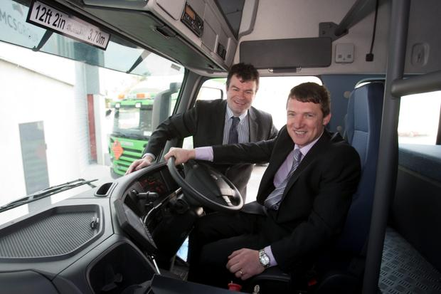 Austin Ryan and Jimmy Martin, founders of AMCS Group, Crecora, Co. Limerick