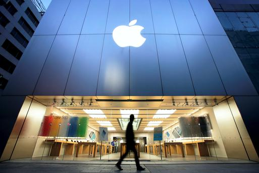 Irish workers at the Cork base make up a quarter of Apple's employees in Europe.