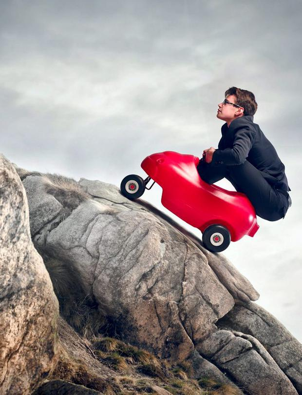 UPHILL STRUGGLE: The future can look bleak when age and declining job prospects conspire