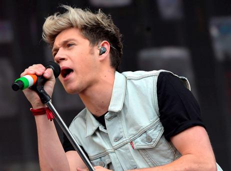 DONE GOOD: Local boy Niall Horan of massively successful boyband One Direction