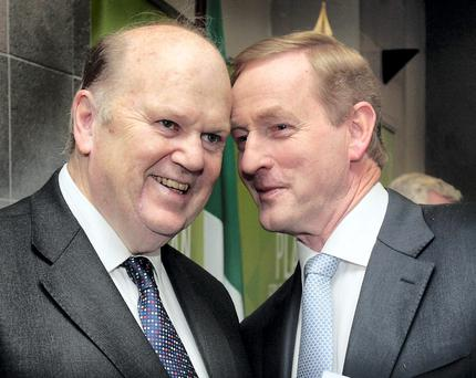 DECISIONS: Michael Noonan and Enda Kenny have a big role to play in convincing 27 governments to make the technical amendment to the Troika deal