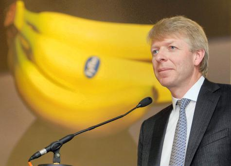 Fyffes' boss David McCann