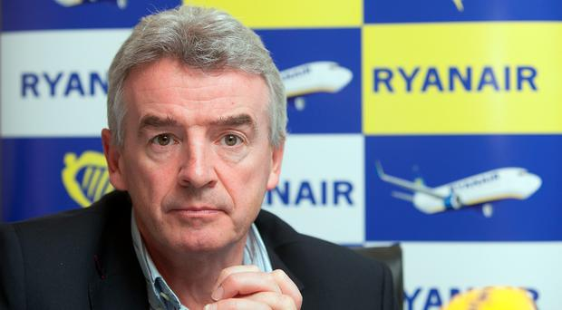 Ryanair chief executive Michael O'Leary said the airline is targeting a 60pc share of all passenger traffic between Dublin and Brussels' two airports