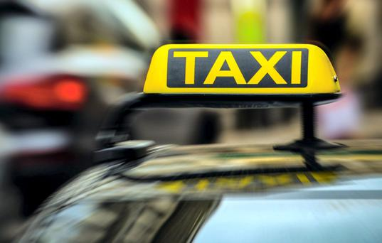 The alleged attack took place after an alleged row in a taxi