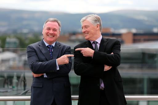 John McCann and Pat Kenny