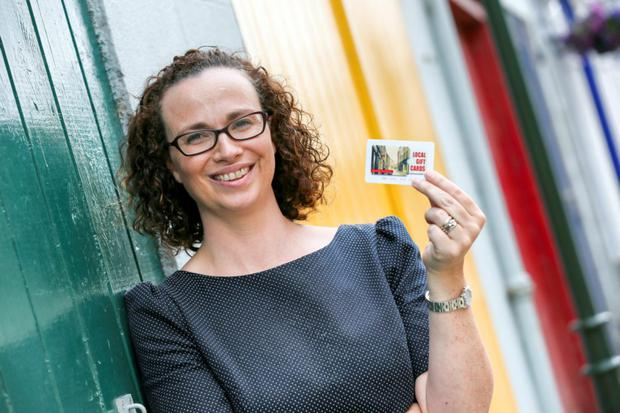 Maria Carolan, owner of Local Gift Cards, is planning to take her business nationwide.