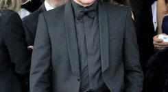 Bono pictured in Venice ahead of George Clooney's official wedding ceremony