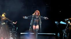 Rihanna in concert at the Aviva stadium, Dublin