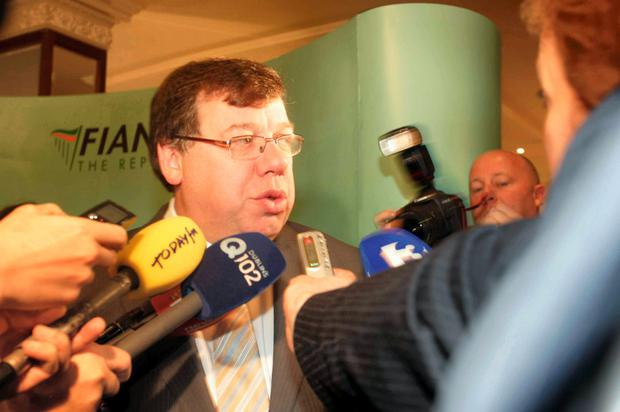 Brian Cowen interviewed after his infamous interview on Morning Ireland.