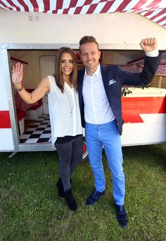 Nicky Byrne and Jenny Greene.