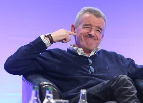 Michael O'Leary, CEO of Ryanair. Photo: Damien Eagers