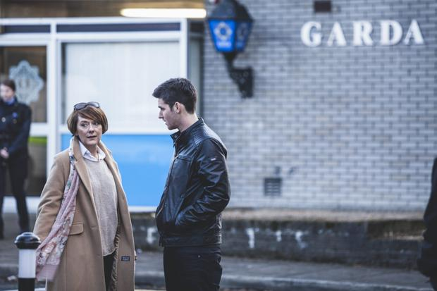 Red Rock: Among the cast are Abbey actor Cathy Belton and Liam Carney of Glenroe fame