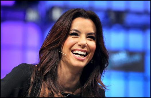 Hollywood actress Eva Longoria at the Web Summit at the RDS.