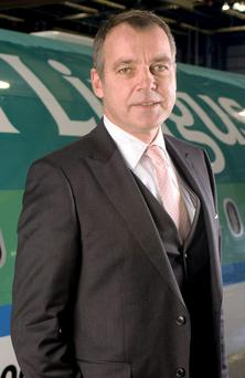Christoph Mueller, out going CEO of Aer Lingus