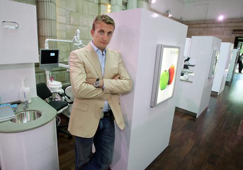 Raethorne was an early investor in Smiles Dental, the rapidly-growing dentistry chain founded by Topaz chief executive Emmet O'Neill (pictured) and sold to Oasis Dental in 2014 for €36m