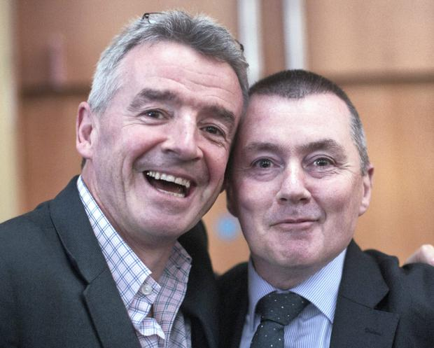 REVENGE IS SWEET: Willie Walsh might well take some little pleasure from forcing Michael O'Leary's Ryanair to reduce its holding in Aer Lingus