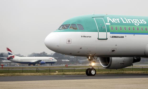 An Aer Lingus Airbus A320 aircraft - the carrier is unlikely to be approached by any other suitor.