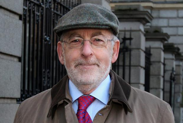 THREE HATS: Patrick Honohan could have several points of view. Photo: Tom Burke