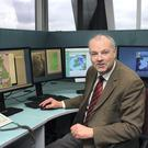 Met Éireann forecaster Gerald Fleming at work