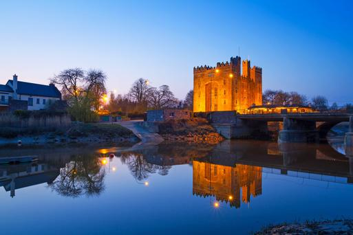 Bunratty Castle in Co Clare. Photo: Deposit