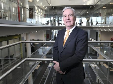 Eircom chief executive Richard Moat pictured in Eircom's headquarters in Dublin. Picture: Damien Eagers.