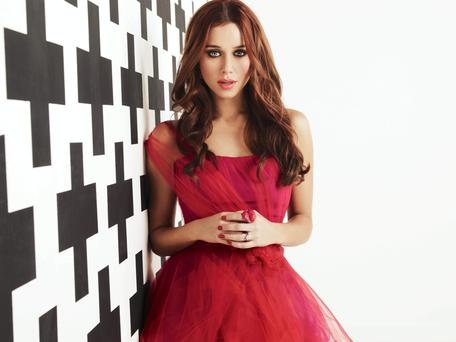 Una Foden, the Tipperary-born singer with The Saturdays pop group