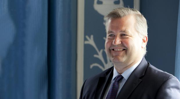 TOP OF HIS GAME: Albert Manifold, the CRH chief executive